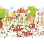 Puzzle-Michele-Wilson-W113-50 Cacouault : Les Pompiers