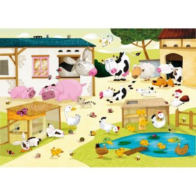 Puzzle-Michele-Wilson-W115-12 Huette : La ferme