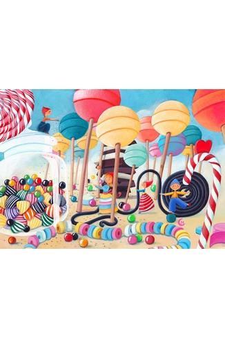 Puzzle-Michele-Wilson-W149-50 Marie Cardouat : Le Pays des Bonbons