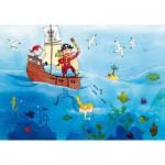 Puzzle-Michele-Wilson-W151-24 Vanvolsem : Les pirates