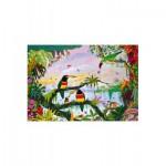 Puzzle-Michele-Wilson-W162-100 Alain Thomas : La Jungle