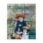 Puzzle-Michele-Wilson-W164-12 Auguste Renoir : Deux Soeurs