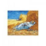 Puzzle-Michele-Wilson-W167-24 Vincent Van Gogh : La Méridienne