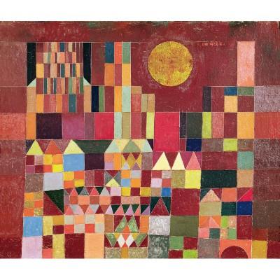 Puzzle-Michele-Wilson-W203-24 Klee : Chateau et soleil