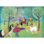 Puzzle-Michele-Wilson-W209-100 Lebot : Jour de repos