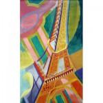 Puzzle-Michele-Wilson-W276-100 Delaunay : La Tour Eiffel