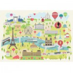 Puzzle-Michele-Wilson-W305-24 Magda : Paris Illustré