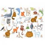 Puzzle-Michele-Wilson-W306-12 Hannah Weeks : L'alphabet des animaux