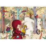 Puzzle-Michele-Wilson-W308-24 Lebot Sophie : Rencontre en forêt