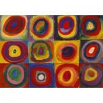 Puzzle-Michele-Wilson-W446-12 Puzzle en Bois - Kandinsky Vassily : Color Study
