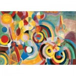 Puzzle-Michele-Wilson-W451-50 Puzzle en Bois - Robert Delaunay: Hommage à Blériot