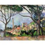 Puzzle-Michele-Wilson-W531-50 Cézanne Paul : Vue sur l'Estaque