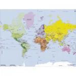 Puzzle-Michele-Wilson-W75-50 Géographie : Carte du monde