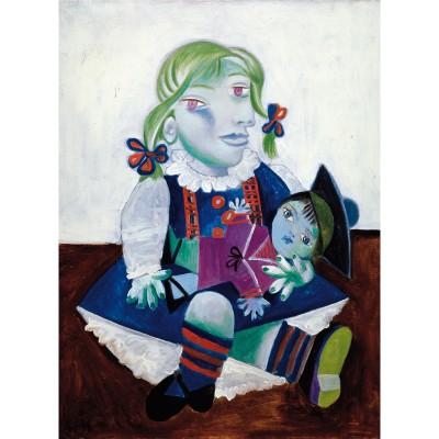 Puzzle-Michele-Wilson-W91-12 Maya à la poupée