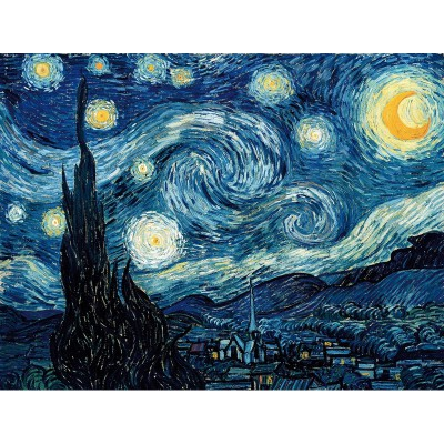 Puzzle-Michele-Wilson-W94-50 Van Gogh : Nuit étoilée