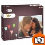 PP-Photo-100 Puzzle Photo Personnalisé 100 pièces