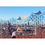 Puls-Entertainment-Puzzle-22222 Hamburg im Spiegel der Elbphilharmonie