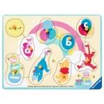Ravensburger-03685 Puzzle en Bois - Winnie l'Ourson