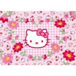 Ravensburger-05262 Puzzle Géant - Hello Kitty : Fleurs