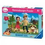 Ravensburger-05461 Puzzle Géant de Sol - Heidi