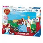 Ravensburger-05488 Puzzle Géant de Sol - Sissi