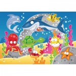 Ravensburger-05610 My First Outdoor Puzzles - Aventure sous l'eau