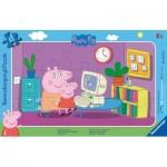 Ravensburger-06123 Puzzle Cadre - Peppa Pig