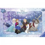Ravensburger-06127 Puzzle Cadre - La Reine des Neiges