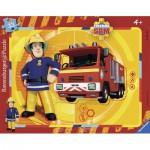 Ravensburger-06132 Puzzle Cadre - Sam le Pompier