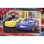 Ravensburger-06147 Puzzle Cadre - Cars 3