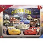 Ravensburger-06157 Puzzle Cadre - Cars 3