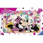 Ravensburger-06158 Puzzle Cadre - Minnie et Figaro