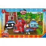 Ravensburger-06160 Puzzle Cadre - Helden der Stadt