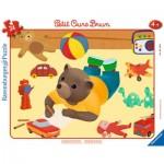 Ravensburger-06168 Puzzle Cadre - Petit Ours Brun