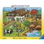 Ravensburger-06618 Les animaux et leurs familles