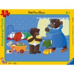 Ravensburger-06765 Puzzle Cadre - Petit Ours Brun dans sa Chambre