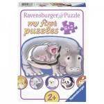 Ravensburger-06883 My First Puzzle - Animaux Sauvage