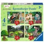 Ravensburger-06939 4 Puzzles - Contes et Légendes