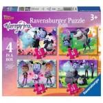 Ravensburger-06973 4 Puzzles - Vampirina