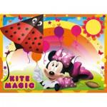 Ravensburger-07255 4 Puzzles - Minnie