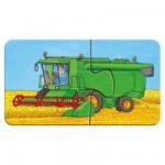 Ravensburger-07332 9 Puzzles - Les véhicules