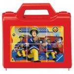 Ravensburger-07437 Puzzle Cubes - Sam le Pompier