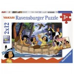 Ravensburger-07607 2 Puzzles - Yakari