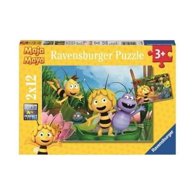 Ravensburger-07624 2 Puzzles - Maya L'Abeille