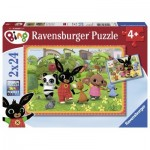 Ravensburger-07821 2 Puzzles - Bing