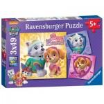 Ravensburger-08008 3 Puzzles - Pat' Patrouille