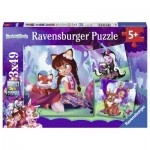 Ravensburger-08061 3 Puzzles - Enchantimals