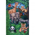 Ravensburger-08601 Animaux de la jungle