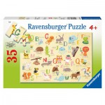 Ravensburger-08761 A-Z Animals (en Anglais)