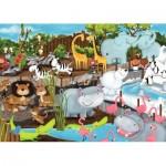 Ravensburger-08778 Journée au Zoo